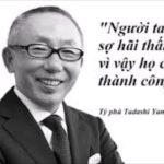 7 nguyen tac vang trong kinh doanh cua ty phu Tadashi Yanai